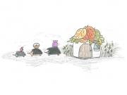 Ežys Žiužis - iliustravo Rugilė Audenienė