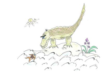 Krokodilo noras