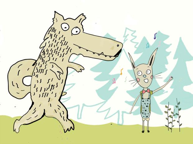 Kiškis ir vilkas