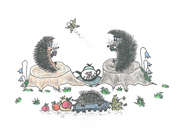 Ežys Žiužis ir jo sapnai