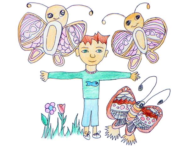 Saulius ir drugeliai