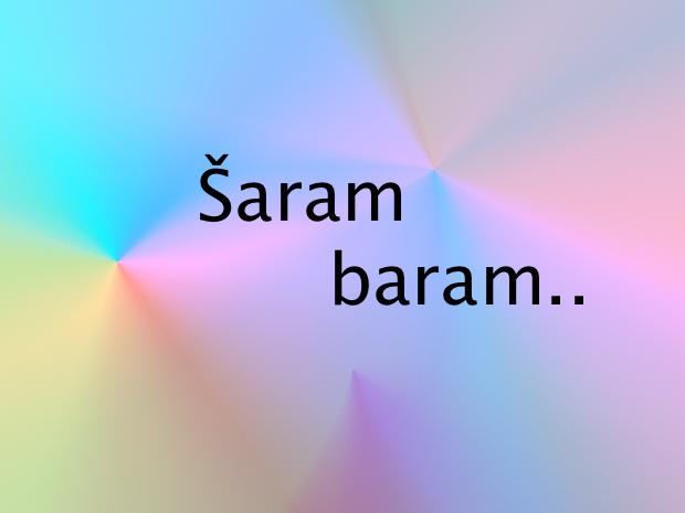 Šaram baram